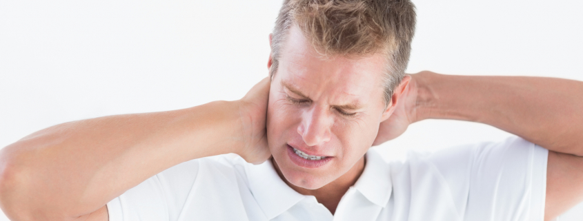 neck pain after brain injury